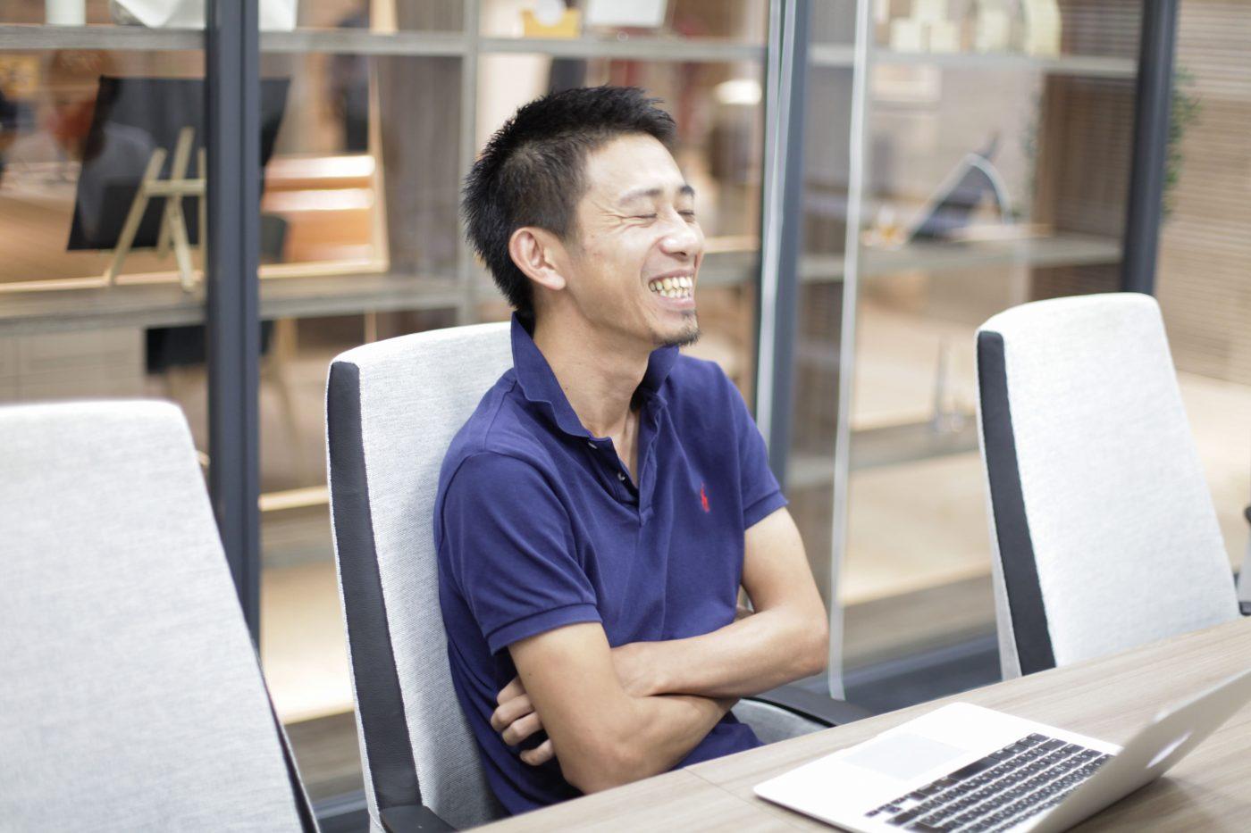 入社から3年後、起業すること以外、事業ドメインはまったく決めずに退職した。