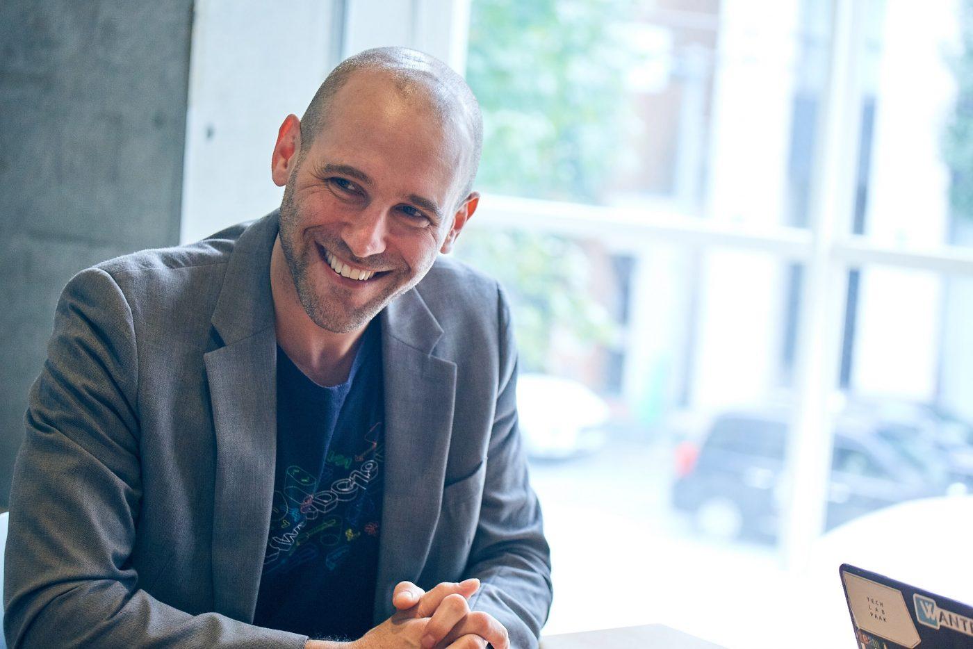 ポール チャップマン マネーツリー CEO 豪モナシュ大学、埼玉大学卒業。外国人起業家