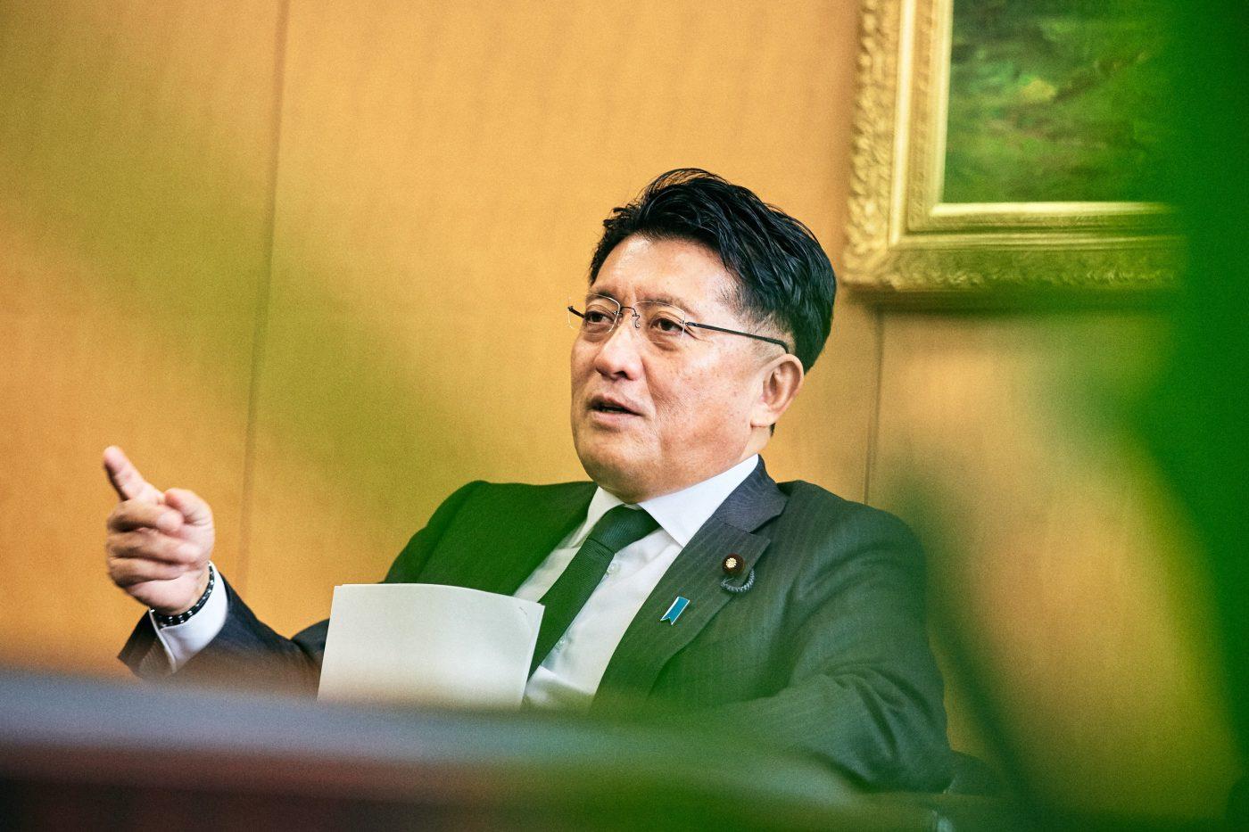 最近では海外の人のピッチを受けることも多いという平井氏。超高速で高齢化が進み未曾有の少子高齢化を迎える日本は、世界の課題先進国でもある。