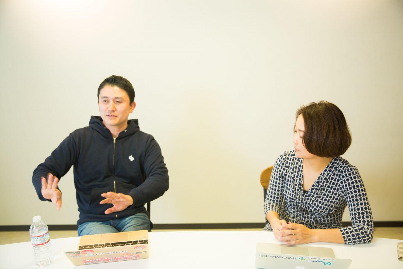 重松氏と佐藤氏が出会ったのは、重松氏が新卒で入社した会社を辞めてベンチャー企業に転職するときのことだった。