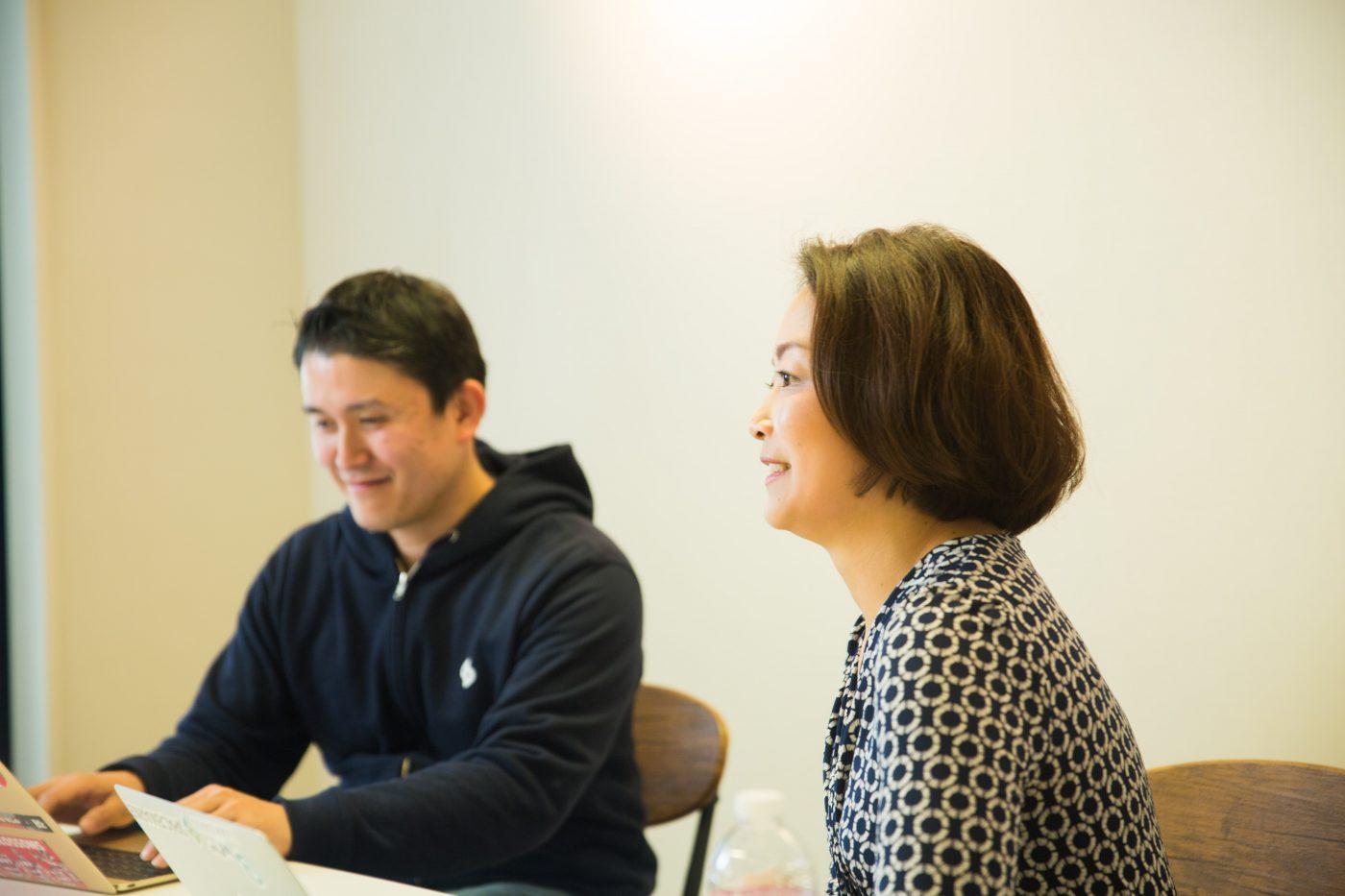 佐藤氏と重松氏にとって、起業することはお互いが目指す目標への手段だった。それでまずは重松が起業することになったが、その背景には、会社員としての仕事にやりがいを見出せなくなっていた夫を見かねた、佐藤氏の後押しがあった。
