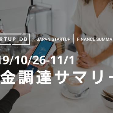 【10月第5週資金調達サマリー】オンライン決済サービスのPaidyが99億円の資金調達