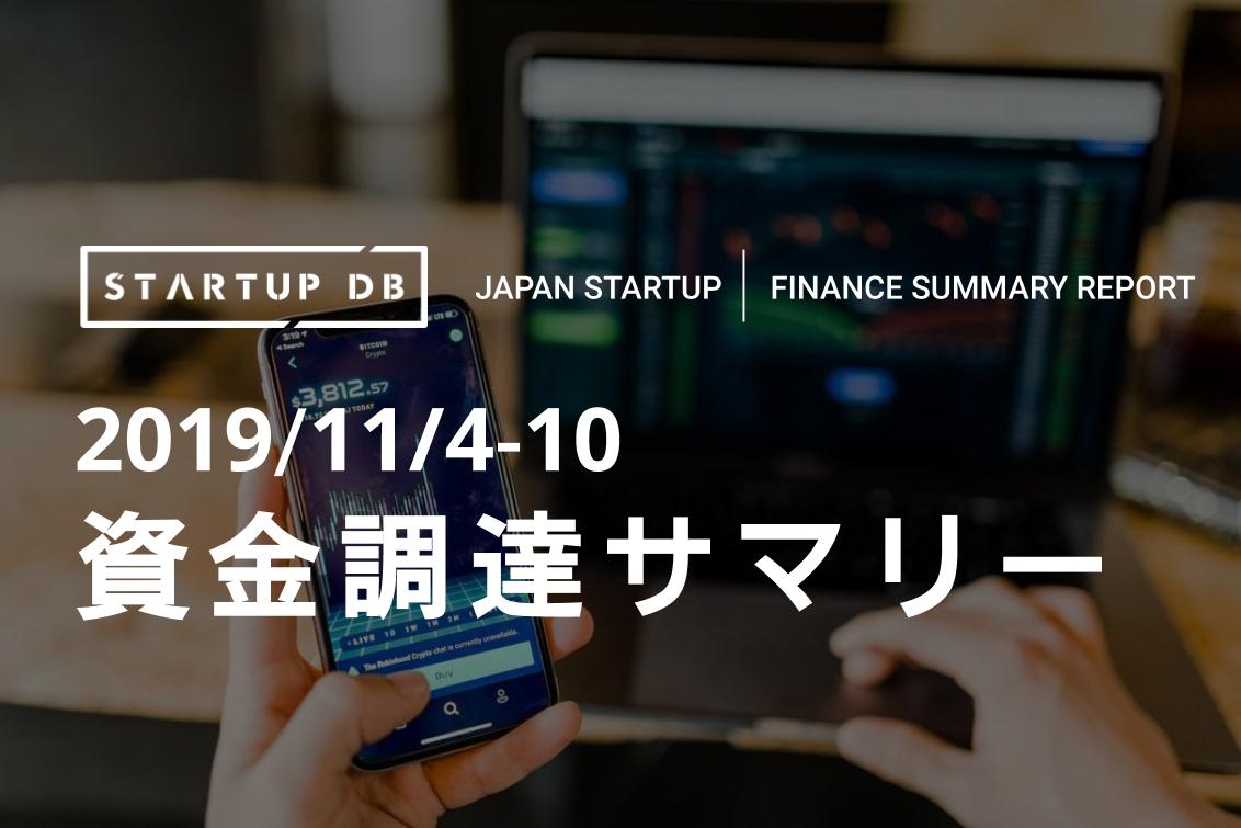 2019/11/4-10 資金調達サマリー