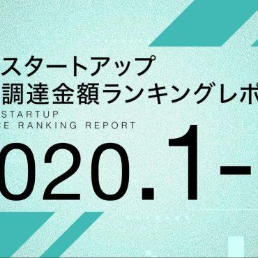 国内スタートアップ資金調達ランキング(2020年1~4月)