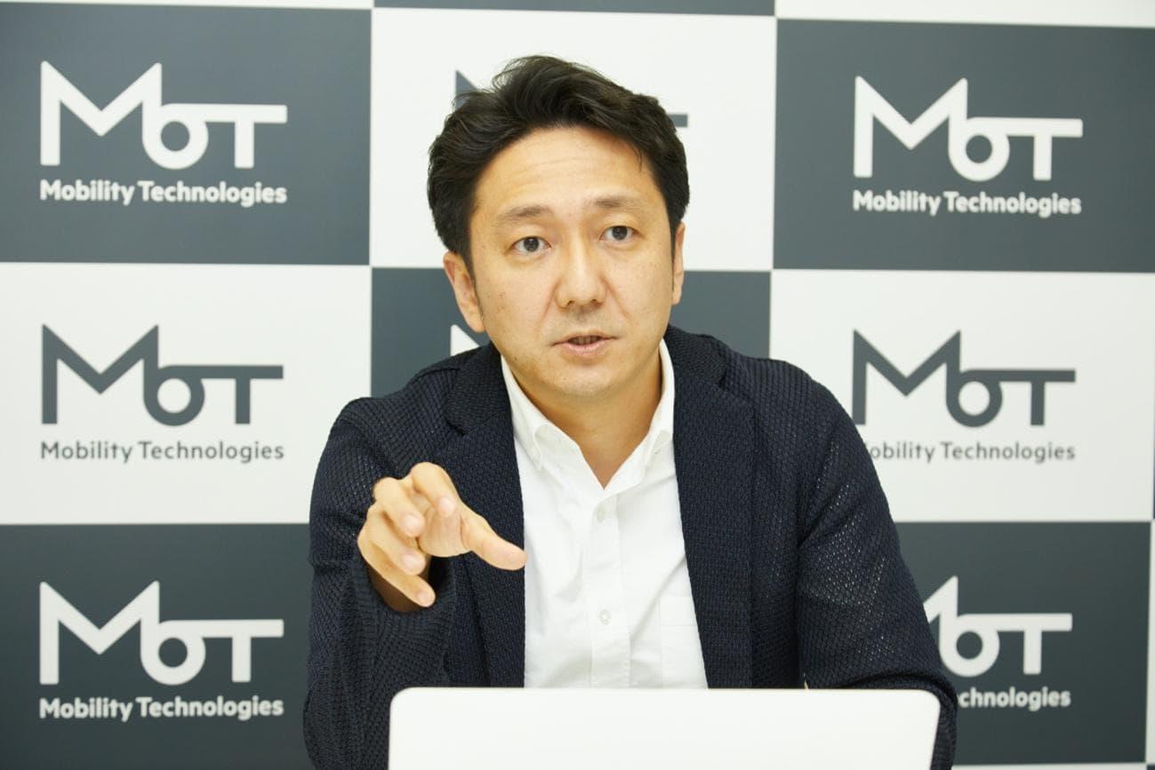 コロナショックがタクシー業界のDXを加速させていると語る中島氏。