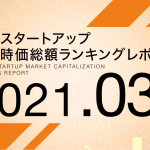 国内スタートアップ想定時価総額ランキング最新版(2021年3月)