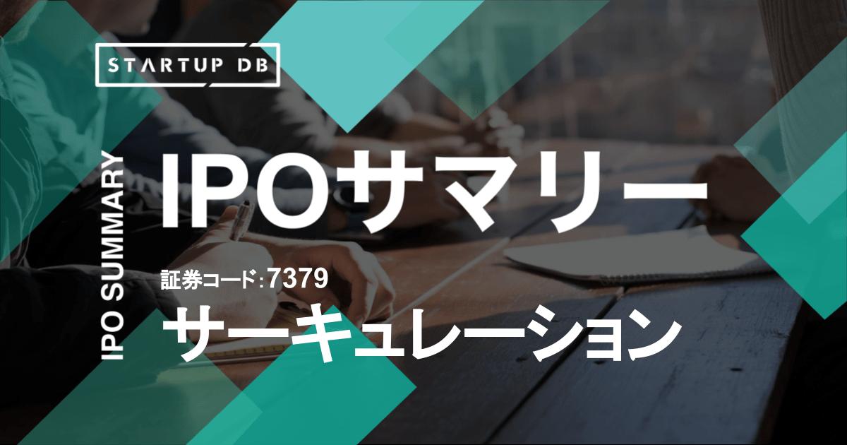 プロ人材の経験・知見を活用して経営課題の解決を支援する「ProSharing Consulting」などを提供する株式会社サーキュレーション(以下、サーキュレーション)が東京証券取引所マザーズに上場承認された。承認日は2021年6月18日で、同年7月17日に上場を果たす。 同社は、「世界中の経験・知見が循環する社会の創造」をビジョンに掲げ、「知のめぐりをよくする。」をコンセプトに、プロシェアリング事業を提供している。2014年1月の創業からおよそ7年6ヶ月での上場となる。 本記事では、新規上場申請のための有価証券報告書Ⅰの部の情報をもとに、同社のこれまでの成長と今後の展望を紐解いていく。 <!--TOC--> 売上高は4年で5.1倍、営業利益は黒字化を達成。積極的な先行投資を進める